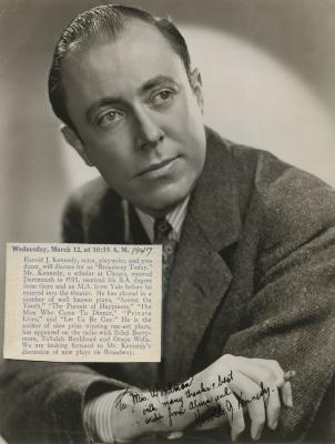 Presenter - Harold J. Kennedy