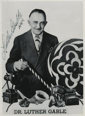 Presenter - Dr. Luther Gable