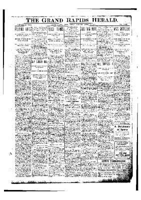 Grand Rapids Herald, Friday, April 11, 1902
