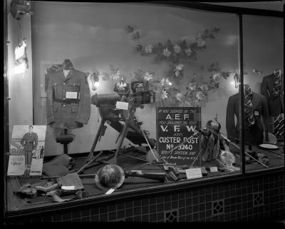 Masterson Clothing Display Window
