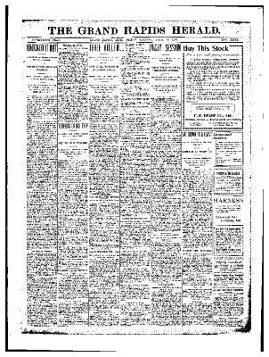 Grand Rapids Herald, Friday, April 10, 1903