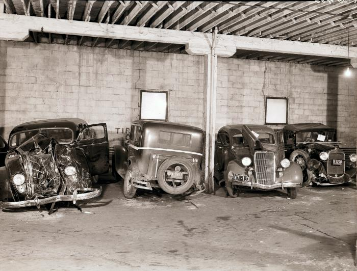 Damaged Automobiles