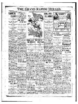 Grand Rapids Herald, Friday, April 14, 1905