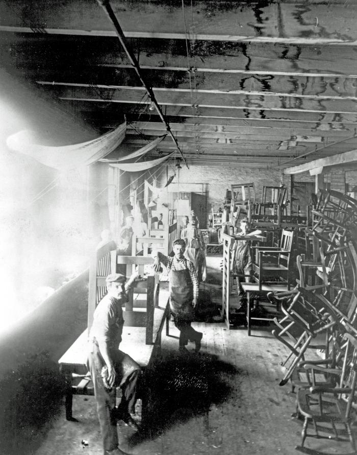 Stickley Brothers Co. furniture factory