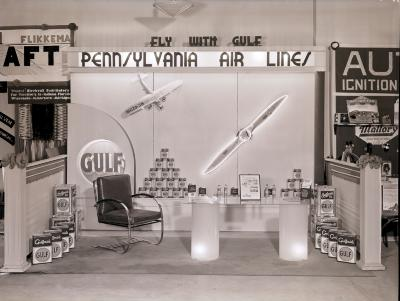 Pennsylvania Air Lines and Gulf Oil Exhibit