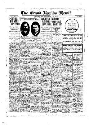 Grand Rapids Herald, Friday, April 12, 1907