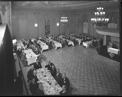 Michigan Bell Banquet at the Rowe Hotel