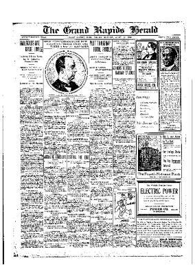 Grand Rapids Herald, Friday, April 10, 1908