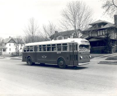 Grand Rapids Motor Coach bus