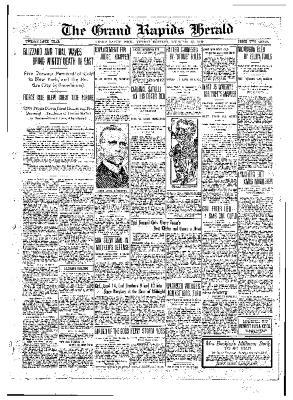 Grand Rapids Herald, Monday, December 27, 1909