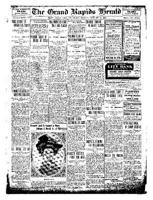 Grand Rapids Herald, Wednesday, January 19, 1910