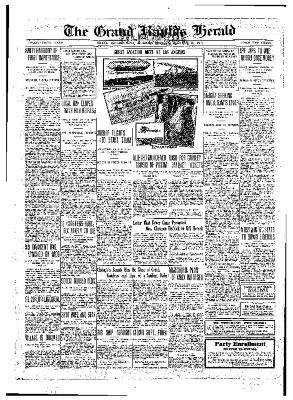 Grand Rapids Herald, Monday, January 10, 1910