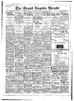 Grand Rapids Herald, Tuesday, December 28, 1909
