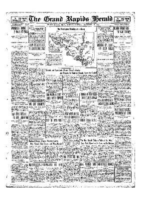 Grand Rapids Herald, Monday, November 29, 1909