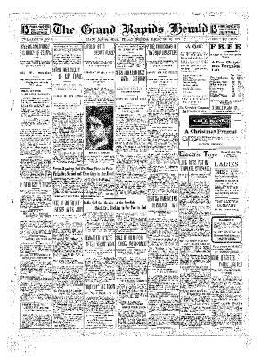 Grand Rapids Herald, Friday, December 10, 1909