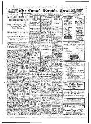 Grand Rapids Herald, Tuesday, December 21, 1909