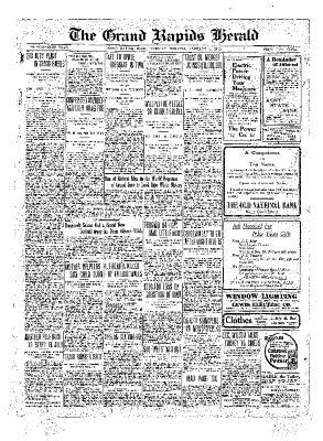 Grand Rapids Herald, Tuesday, January 04, 1910
