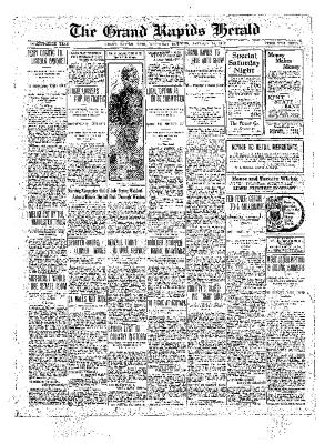 Grand Rapids Herald, Saturday, January 15, 1910