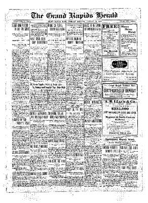 Grand Rapids Herald, Tuesday, January 18, 1910