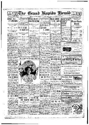 Grand Rapids Herald, Tuesday, November 30, 1909