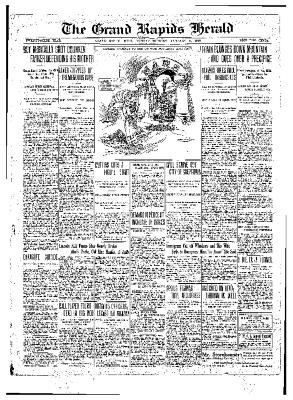 Grand Rapids Herald, Monday, January 17, 1910