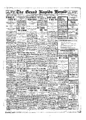 Grand Rapids Herald, Saturday, December 04, 1909