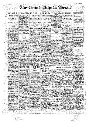 Grand Rapids Herald, Monday, January 03, 1910