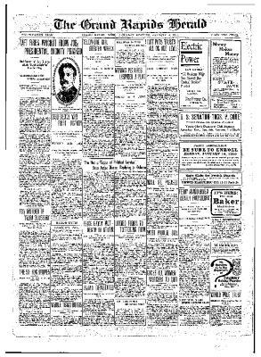 Grand Rapids Herald, Saturday, January 08, 1910