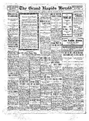 Grand Rapids Herald, Saturday, December 25, 1909