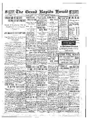 Grand Rapids Herald, Wednesday, December 08, 1909