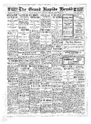 Grand Rapids Herald, Saturday, December 11, 1909