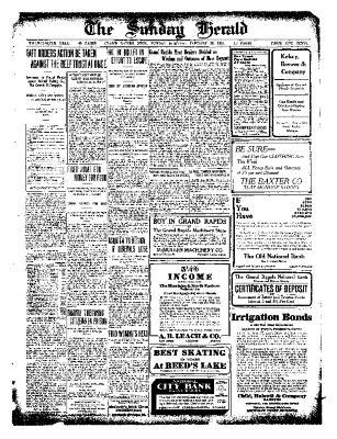 Grand Rapids Herald, Sunday, January 23, 1910