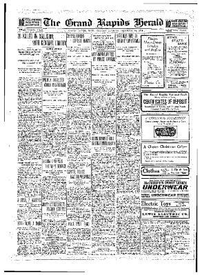 Grand Rapids Herald, Tuesday, December 14, 1909