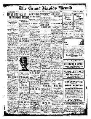 Grand Rapids Herald, Tuesday, January 25, 1910
