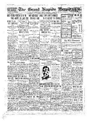 Grand Rapids Herald, Monday, December 13, 1909