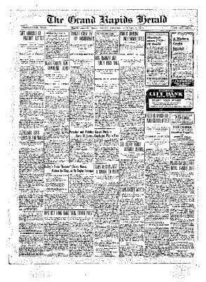 Grand Rapids Herald, Friday, January 07, 1910
