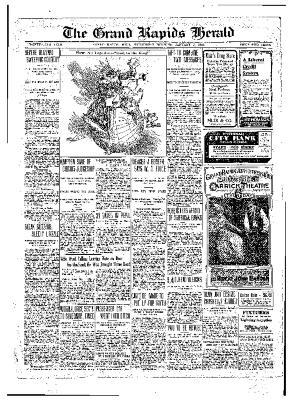Grand Rapids Herald, Wednesday, January 05, 1910