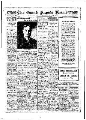Grand Rapids Herald, Monday, December 06, 1909