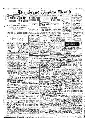 Grand Rapids Herald, Friday, November 26, 1909