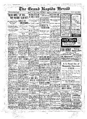 Grand Rapids Herald, Wednesday, January 12, 1910