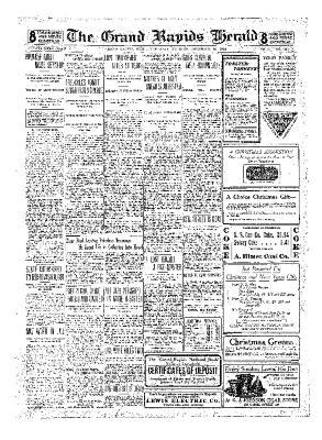 Grand Rapids Herald, Thursday, December 16, 1909