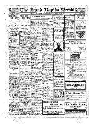 Grand Rapids Herald, Thursday, December 23, 1909