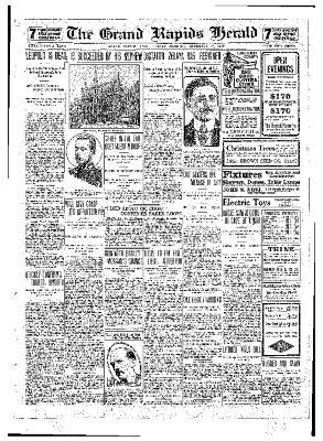 Grand Rapids Herald, Friday, December 17, 1909