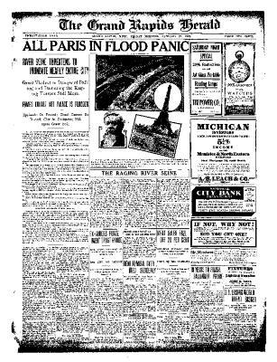 Grand Rapids Herald, Friday, January 28, 1910