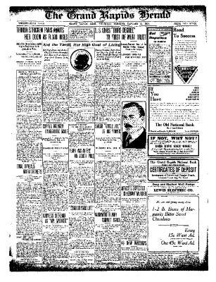 Grand Rapids Herald, Thursday, January 27, 1910