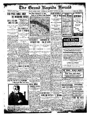 Grand Rapids Herald, Wednesday, January 26, 1910