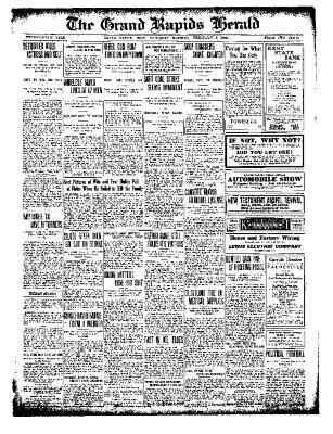 Grand Rapids Herald, Saturday, February 05, 1910