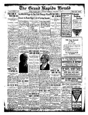 Grand Rapids Herald, Thursday, February 03, 1910