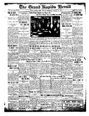 Grand Rapids Herald, Monday, January 31, 1910