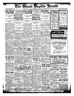 Grand Rapids Herald, Wednesday, February 02, 1910